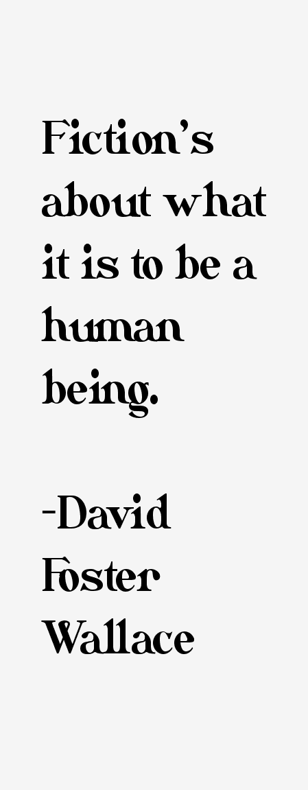 david foster wallace response Easily clip, save and david foster wallace shipping out pdf what you find with family and friends easily download and save what you find we are not selling hope, or.