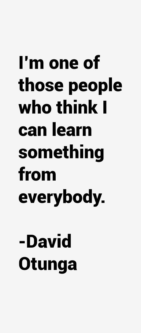 David Otunga Quotes