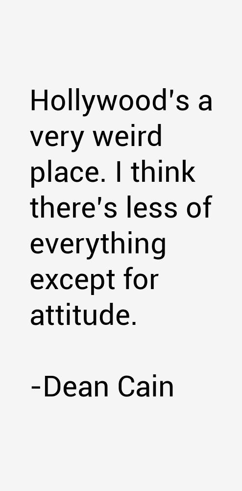 Dean Cain Quotes