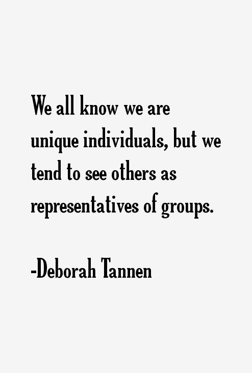 Deborah Tannen Quotes