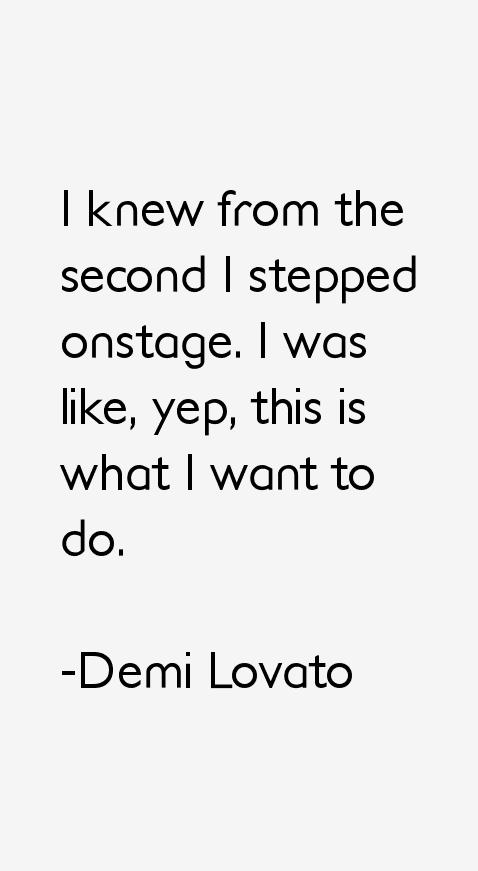 Demi Lovato Quotes