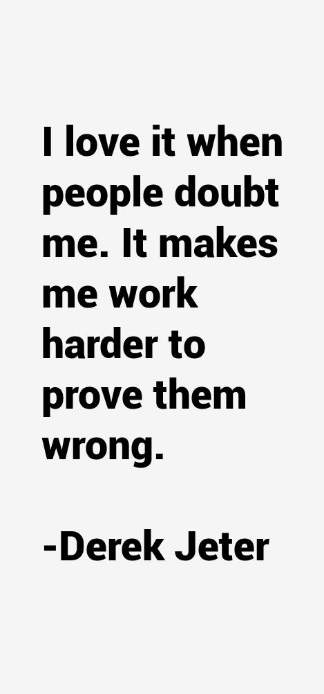 Derek Jeter Quotes Sayings