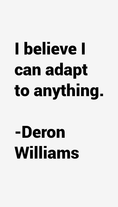 Deron Williams Quotes