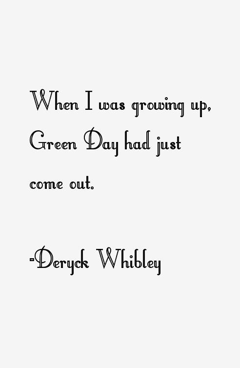Deryck Whibley Quotes