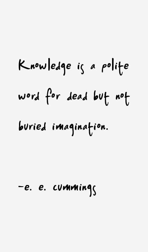 e. e. cummings Quotes