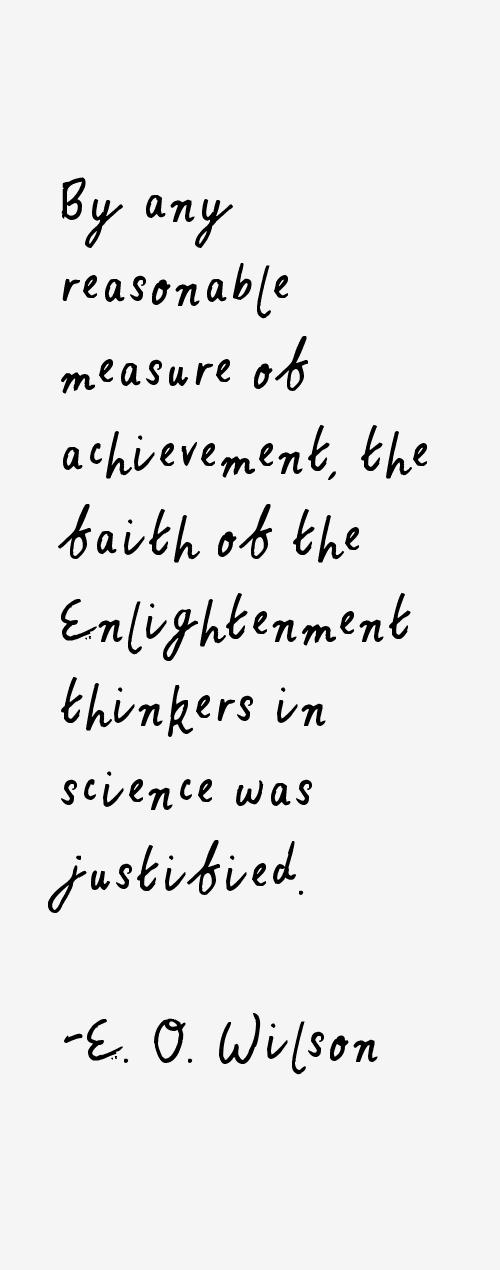 E. O. Wilson Quotes