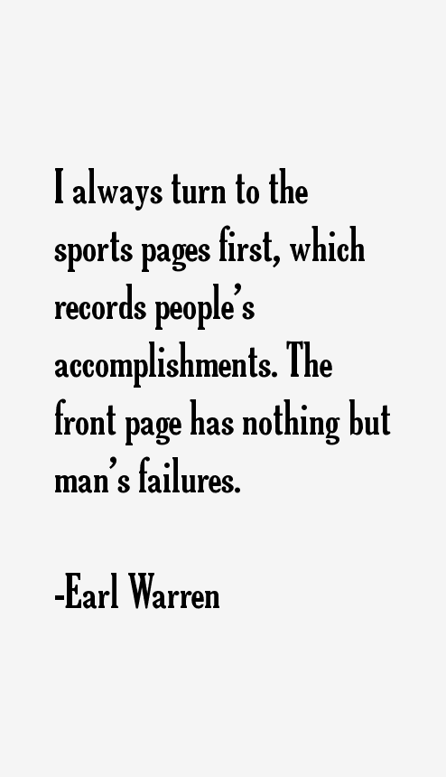 Earl Warren Quotes