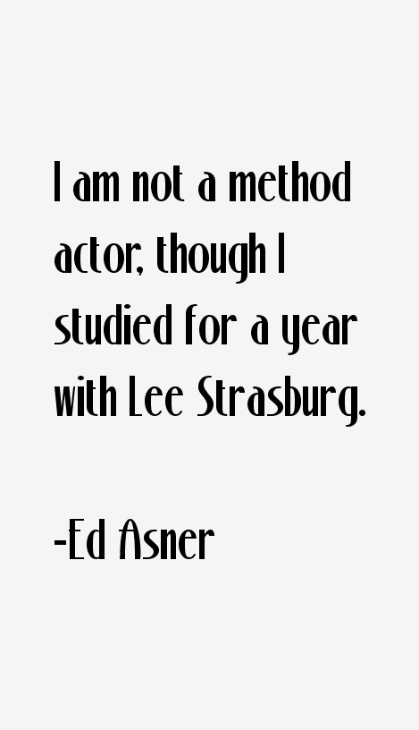 Ed Asner Quotes