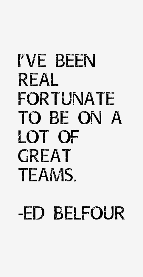 Ed Belfour Quotes