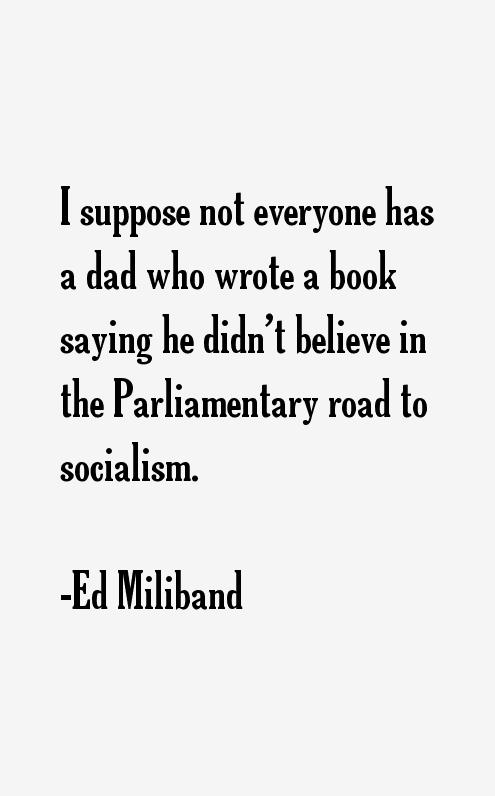 Ed Miliband Quotes
