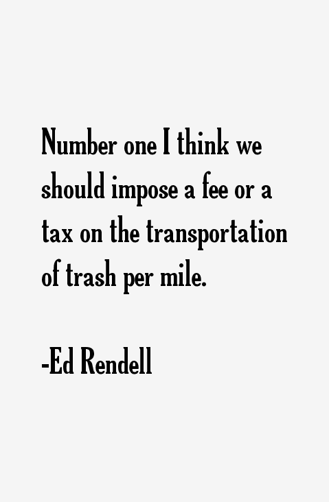 Ed Rendell Quotes
