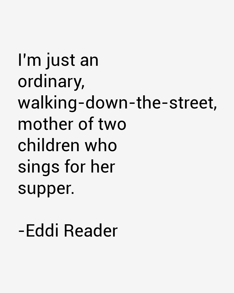 Eddi Reader Quotes