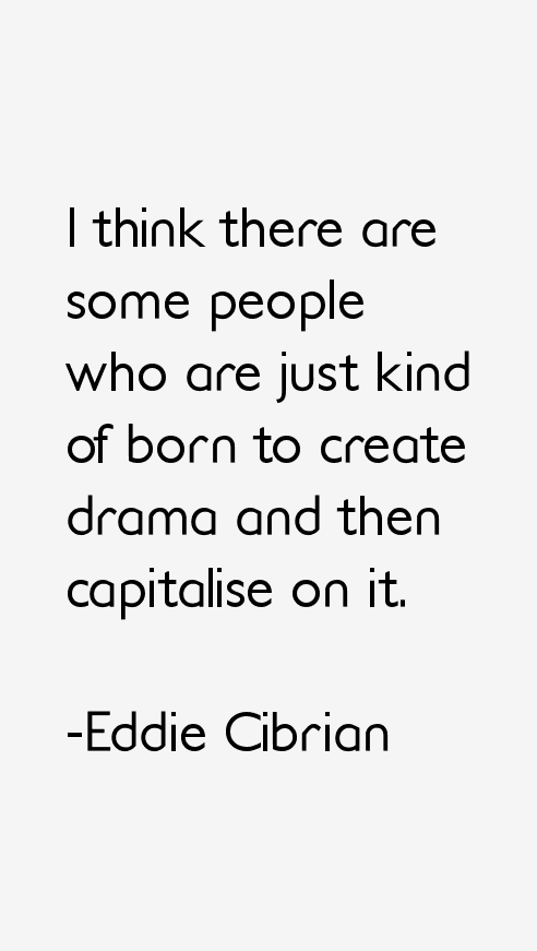 Eddie Cibrian Quotes