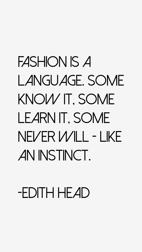 Edith Head Quotes