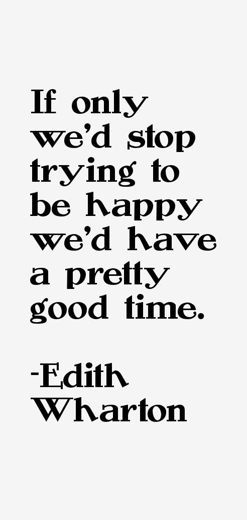 Edith Wharton Quotes
