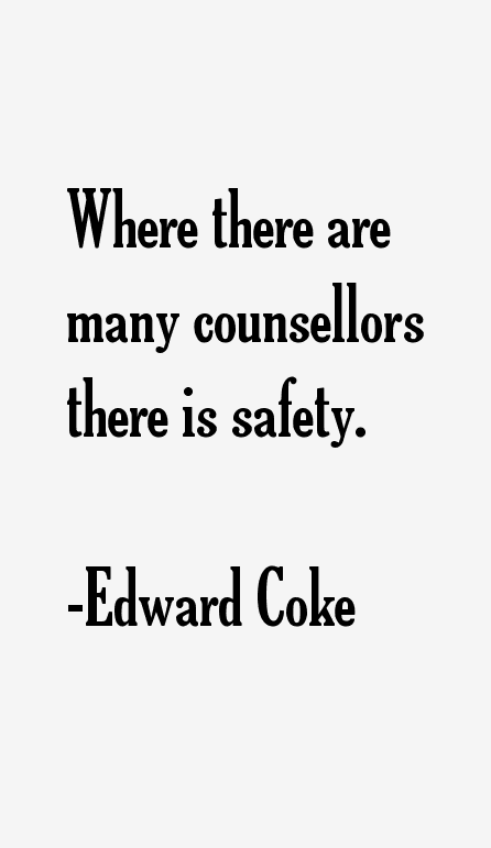Edward Coke Quotes