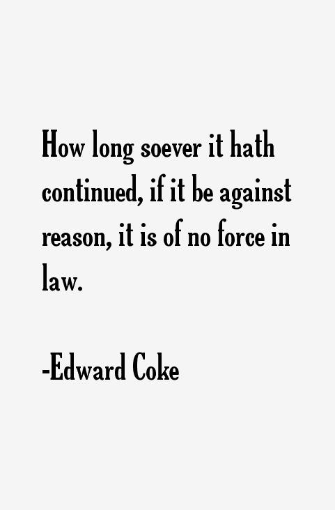Edward Coke Quotes