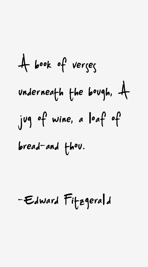 Edward Fitzgerald Quotes