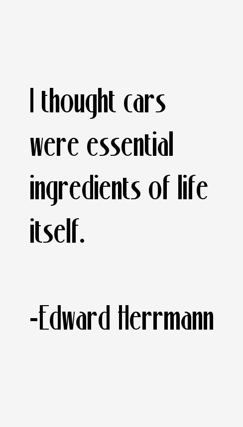 Edward Herrmann Quotes