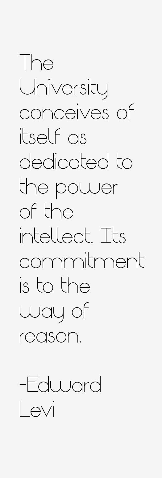 Edward Levi Quotes