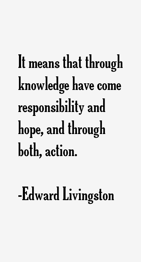 Edward Livingston Quotes