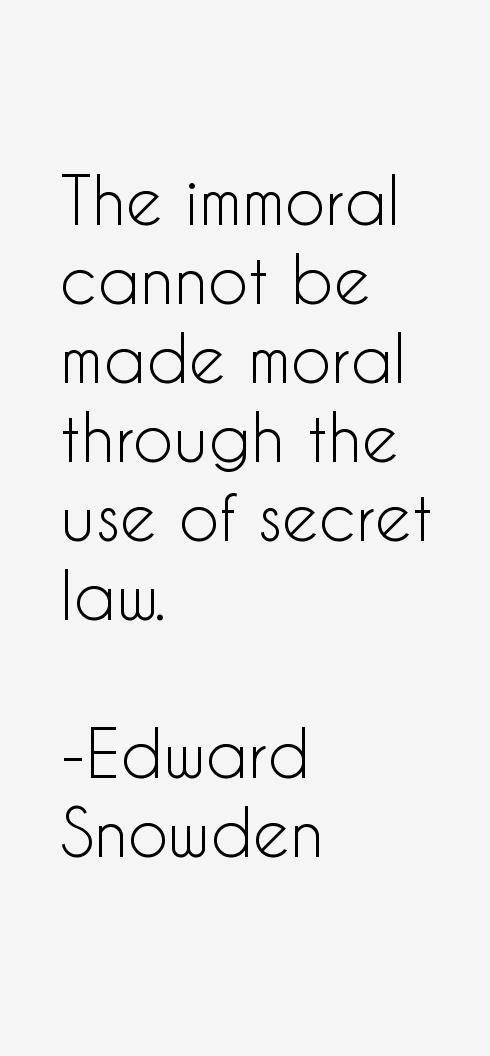 Edward Snowden Quotes
