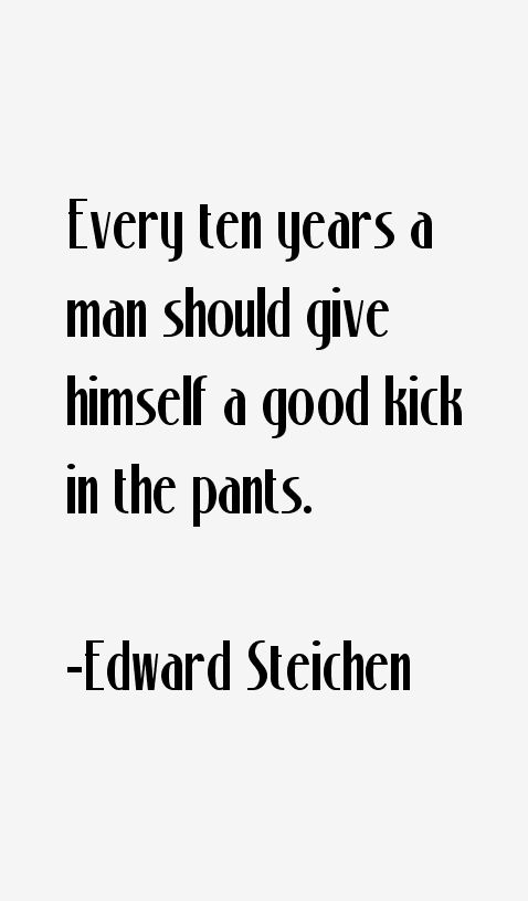 Edward Steichen Quotes