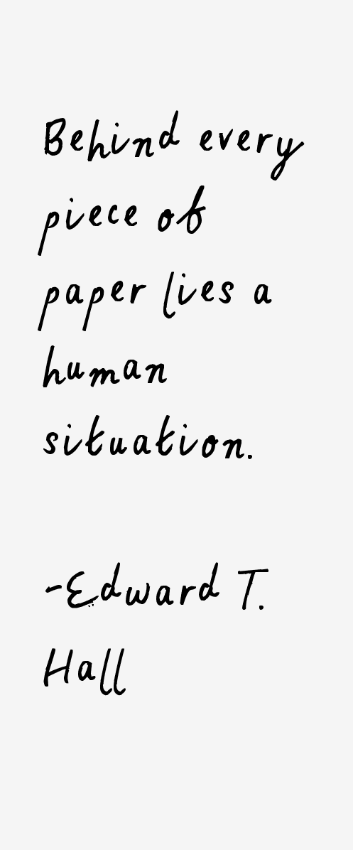 Edward T. Hall Quotes