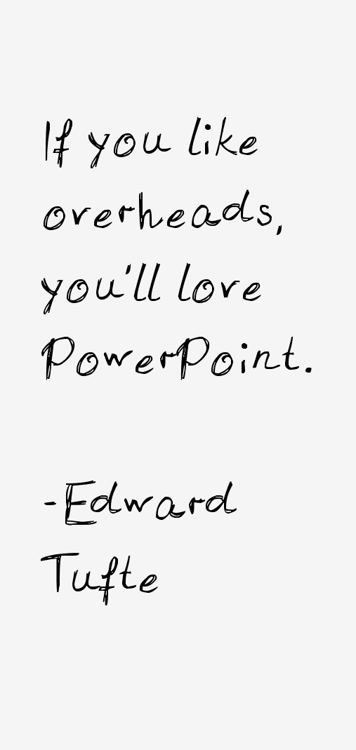 Edward Tufte Quotes