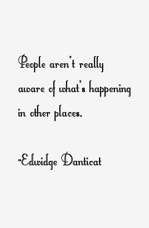 Edwidge Danticat Quotes