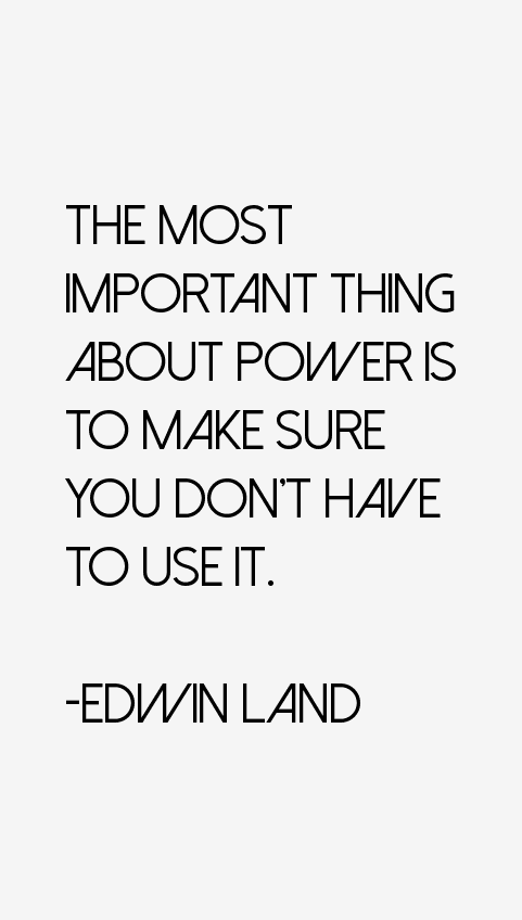 Edwin Land Quotes