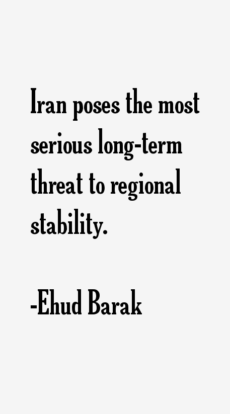 Ehud Barak Quotes
