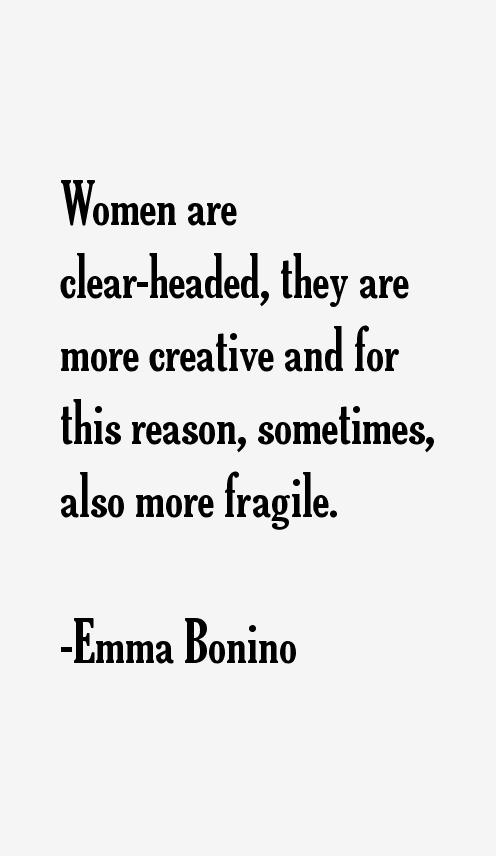 Emma Bonino Quotes