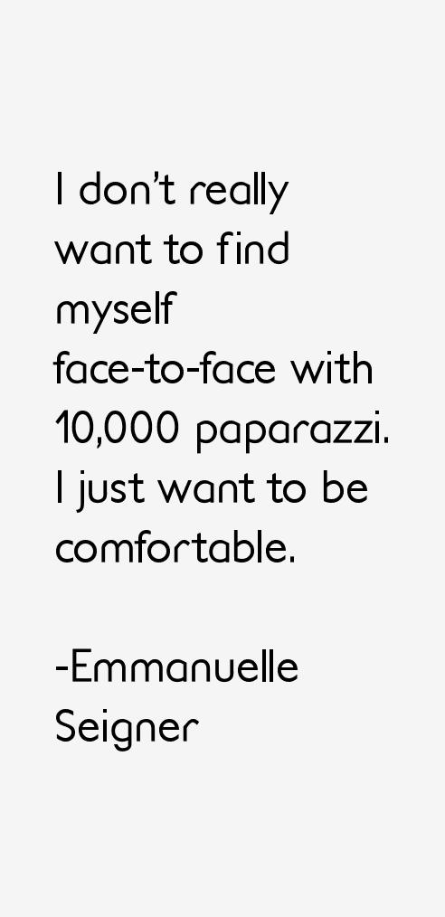 Emmanuelle Seigner Quotes