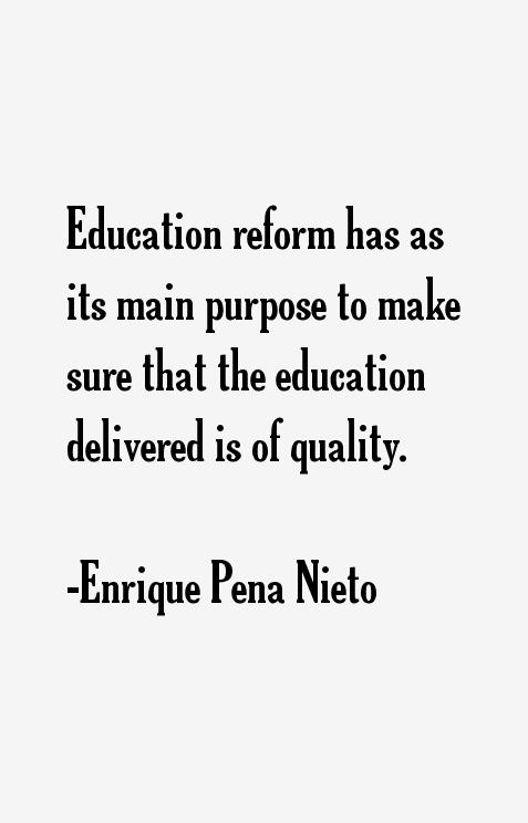 Enrique Pena Nieto Quotes