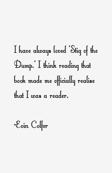 Eoin Colfer Quotes