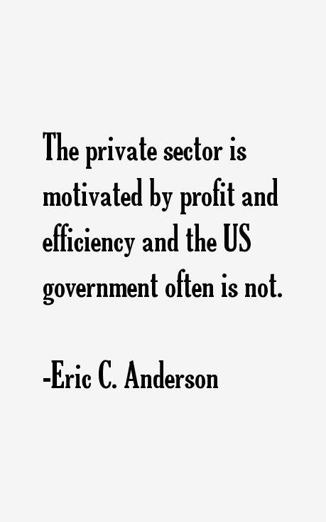 Eric C. Anderson Quotes