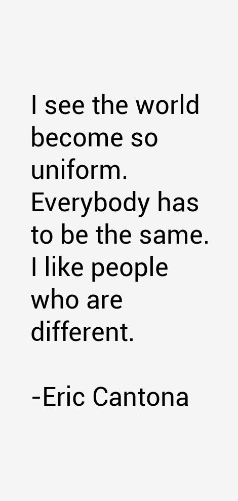Eric Cantona Quotes