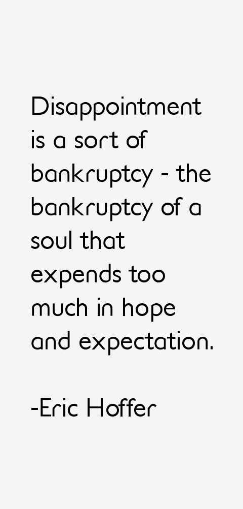 Eric Hoffer Quotes