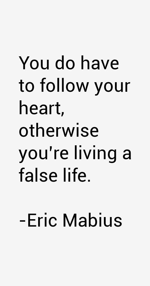 Eric Mabius Quotes