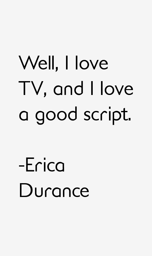 Erica Durance Quotes