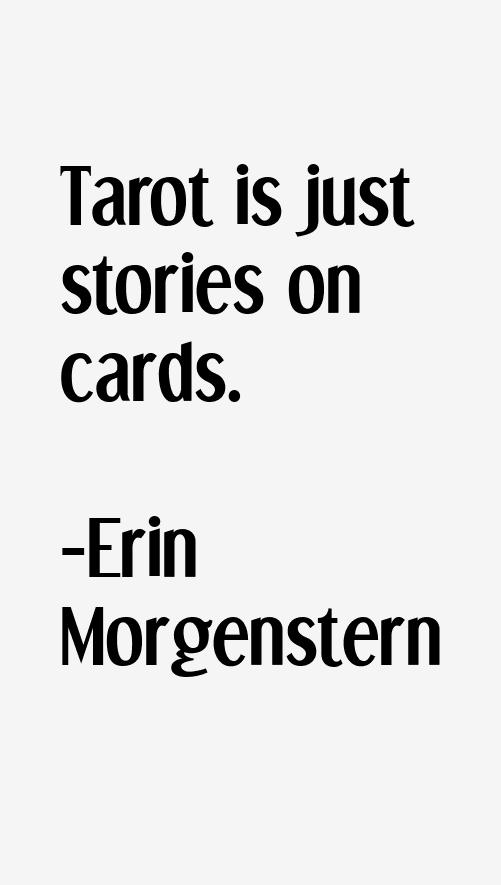 Erin Morgenstern Quotes