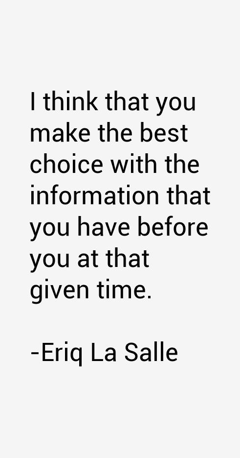 Eriq La Salle Quotes