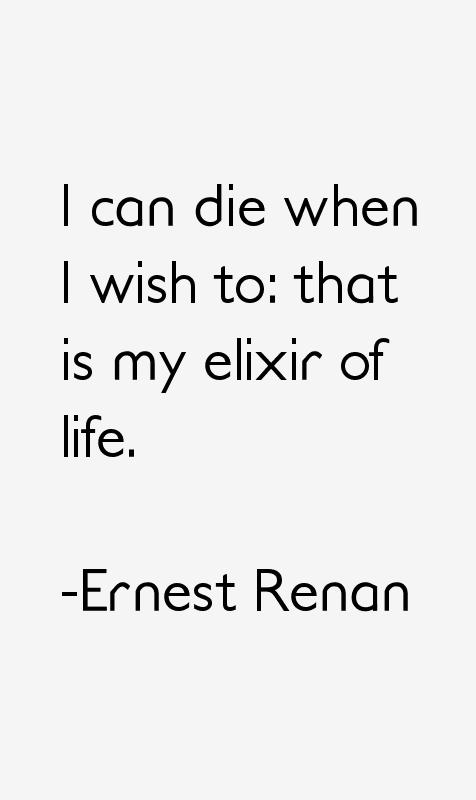 Ernest Renan Quotes