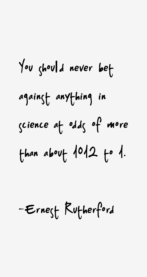 Ernest Rutherford Quotes