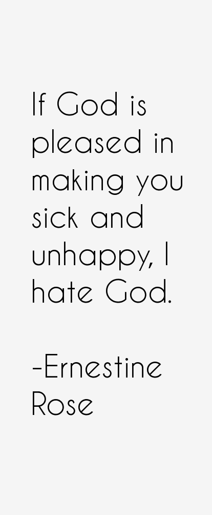 Ernestine Rose Quotes