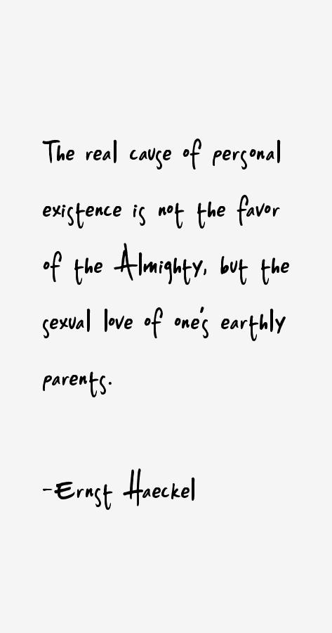 Ernst Haeckel Quotes