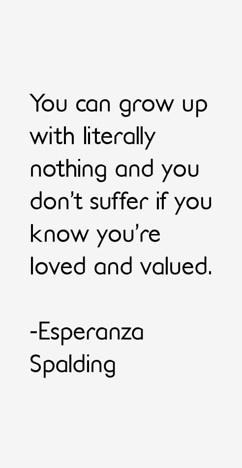 Esperanza Spalding Quotes