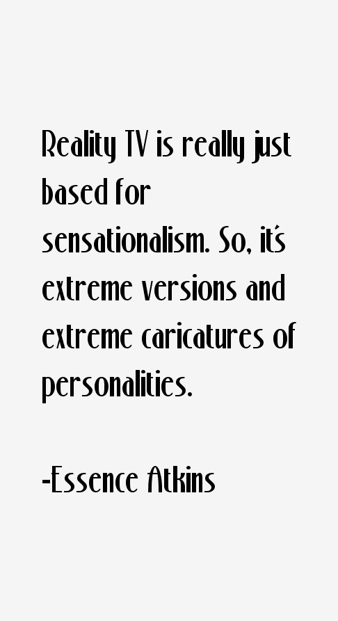 Essence Atkins Quotes
