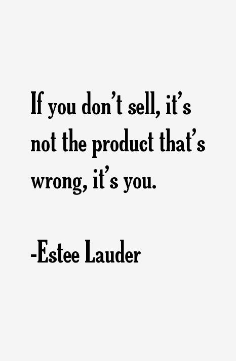 Estee Lauder Quotes